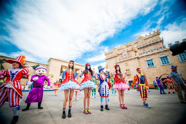 蓬莱欧乐堡梦幻世界百名超短裙美女挑战赛报名开始